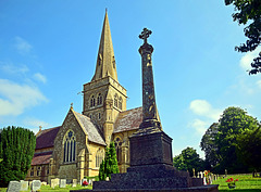 Sutton Veny Church & Commonwealth War Graves