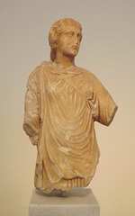 Statuette of Artemis in the National Archaeological Museum of Athens, May 2014