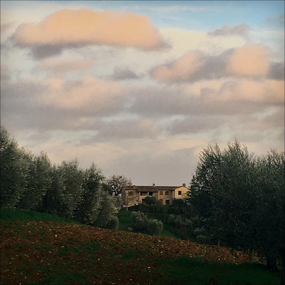 Umbrian country house.
