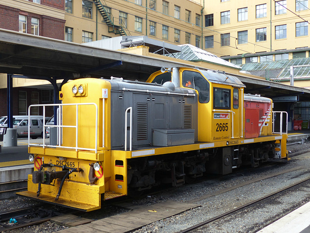 KiwiRail DSC2665 at Wellington (2) - 27 February 2015