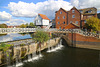 The Abbey Mill and sluice