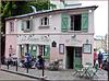 Paris (75) 20 juin 2019. Montmartre, la Maison rose.