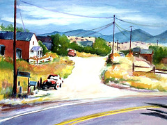 Road to Nambe, New Mexico