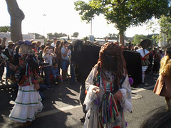 Los Danzantes y los Boteiros de Vilariño de Conso, Galicia.