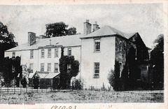 Elliston House, Newton St Boswells, Borders, Scotland (Demolished c1956)
