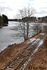 Final Spring for Old Rails Along The East Machias River