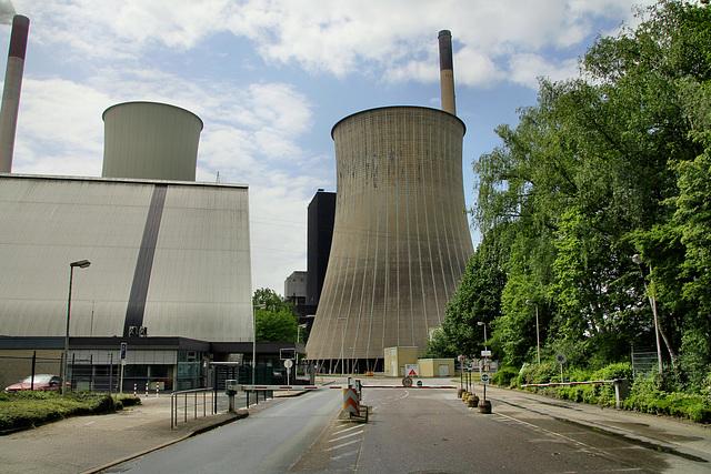 Werkszufahrt zum Kraftwerk Scholven (Gelsenkirchen-Scholven) / 5.05.2019