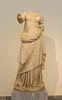 Statuette of Amphitrite from Melos in the National Archaeological Museum of Athens, May 2014