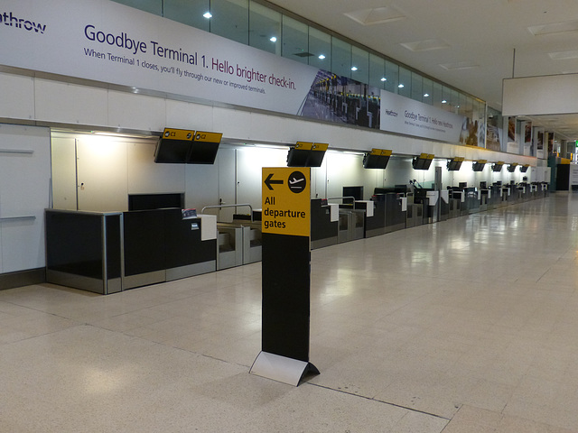 My Farewell to Terminal 1 (15) - 17 June 2015