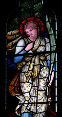 Detail of Window, Staveley Church, Cumbria