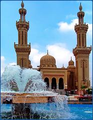 Port Said : la bella moskea Al Salam  al porto