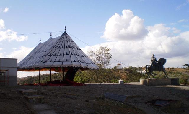 Moorish tent in Mértola.