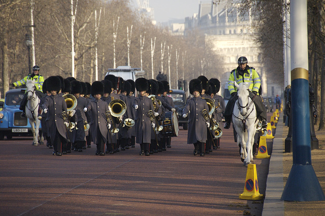 Changing of the Guards, London