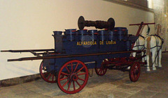 Old Customs' unit for fire fighting.