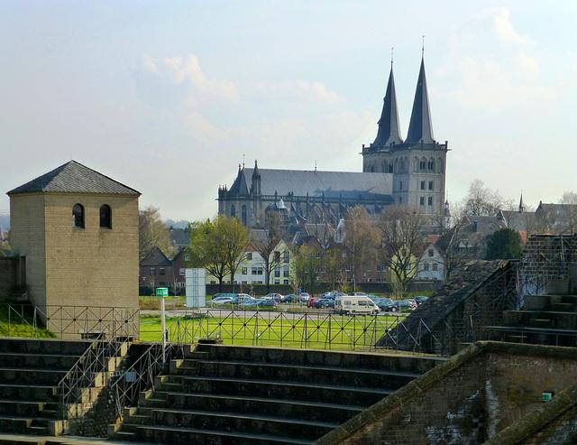 DE - Xanten - View towards St. Viktor