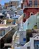 Santorini : Oia un intrigo di case e scale - (989)