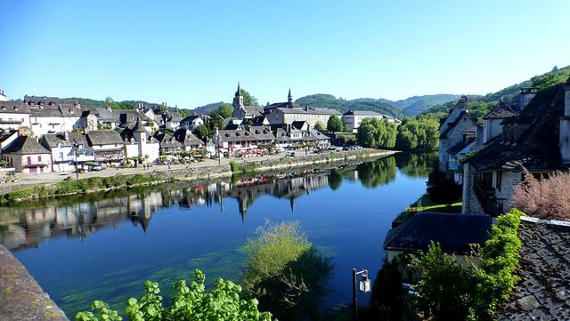La Dordogne à Argentat...