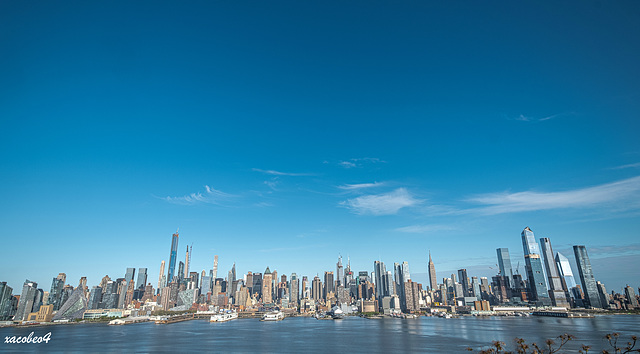 New York  NEW YORK from Weehawken NJ