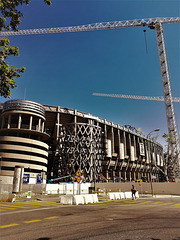 Another from the Estadio Santiago Bernabeu, Real Madrid.