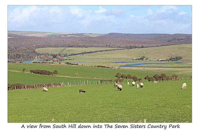 From South Hill into the Cuckmere Valley - 28.3.2016