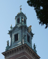 Krakow- Wawel Cathedral- Clock Tower