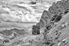 Route Manali-Leh (Inde)