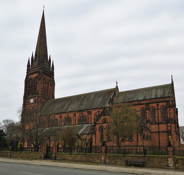 st mary without the walls, chester