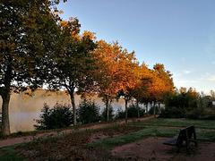 HBM au lever du soleil / At sunrise