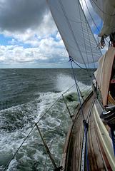 Yacht,  Segeltörn mit der Summerini
