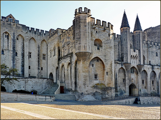 Avignon : Qui si vedono 2 ingressi al Palais des Papes