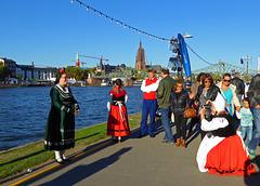 Fest zum 3. Oktober - Heute in Frankfurt/Main auf der Ländermeile