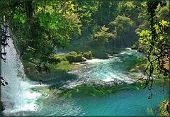 Antalya : Duden waterfall 4