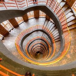 Staircase - Treppenhaus (Sprinkenhof Hamburg)