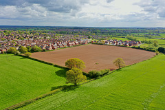 Gnosall from the air