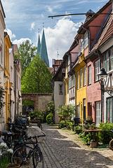 Lübecker Höfe und Gänge: Sievers Thorweg (PiP)