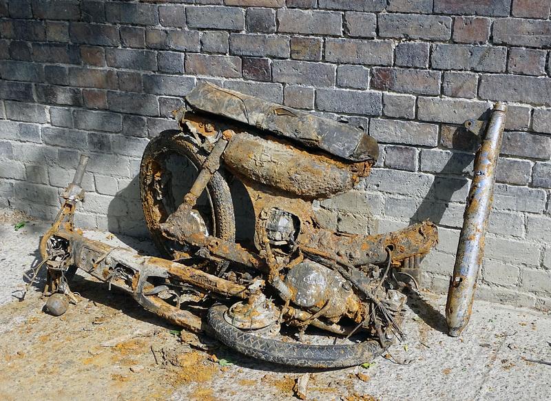 Dredged bike
