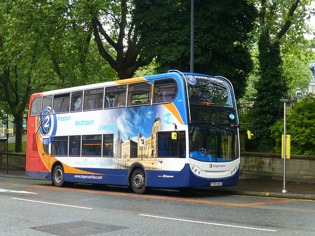 Stagecoach 15470 in Liverpool - 13 July 2015