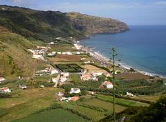 View over Praia Formosa.