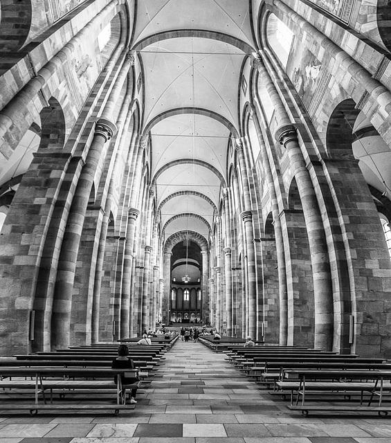 Im Kaiserdom zu Speyer / Speyer Cathedral