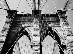 Tower of the Brooklyn Bridge