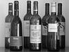 Round bottles and flat bottles