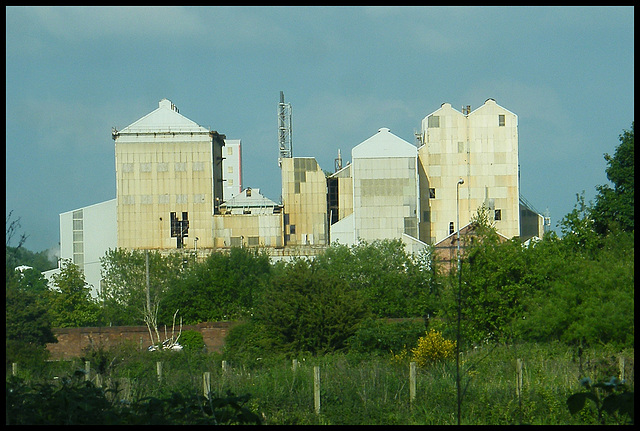 Winnington skyline