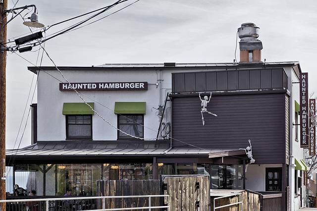 Haunted Hamburger – Clark Street, Jerome, Arizona