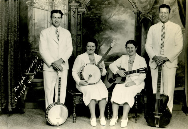 Ralph Overly's Gospel Quartette, Ephrata, Pennsylvania