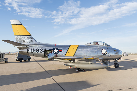 North American F-86F Sabre N186AM