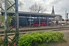 Hamburg 2019 – Steam engine DB 043 196 as a monument at Salzbergen