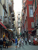 Street in the Historic Center of Naples, June 2013