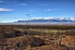 San Pedro Valley & Huachuca Mountains
