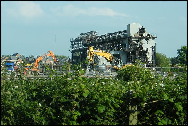 Wallerscote demolition