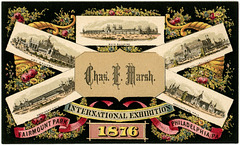 Charles E. Marsh, Centennial International Exhibition, Philadelphia, Pa., 1876